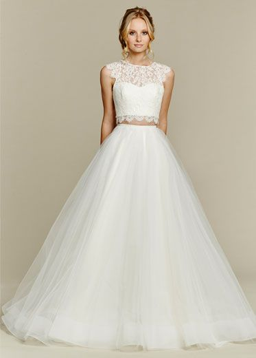 Bridal Gowns, Wedding Dresses by Blush by Hayley Paige - Style 1553 - Sunny