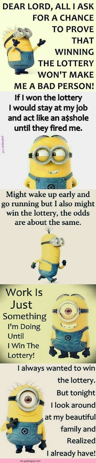 Top 5 Funniest Minion Jokes About Lottery