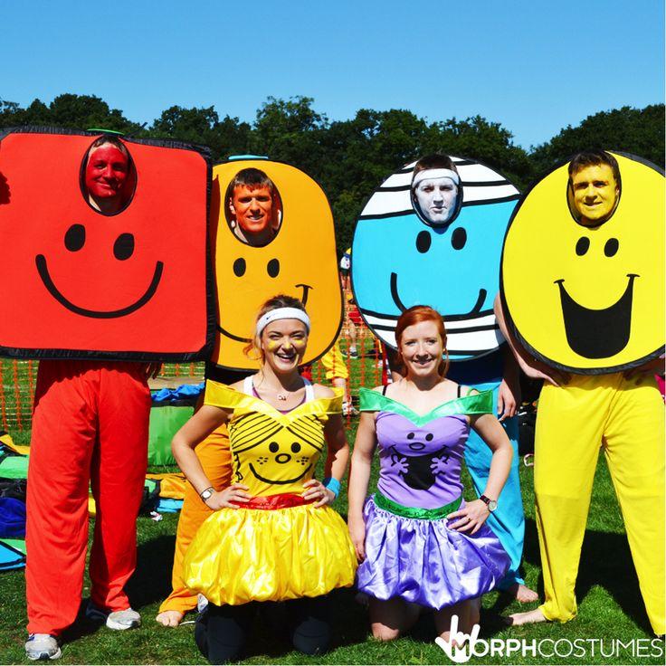Hen Party Costume Inspiration: Take a trip down memory land and wear a Little Miss/Mr Men costume.