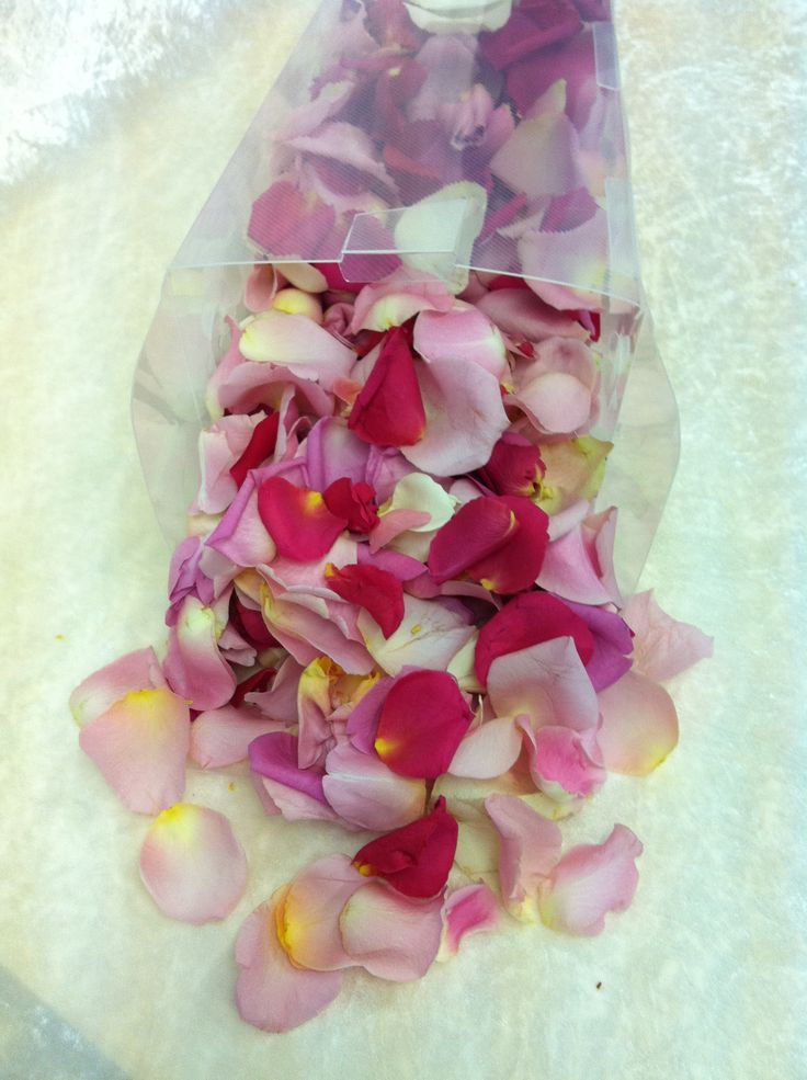Bright Rose Petals are perfect to spread around for that special day