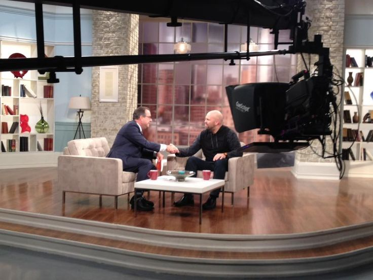 Baker Publishing Group author Clayton King, talking about his book, Stronger on 100 Huntley Street.