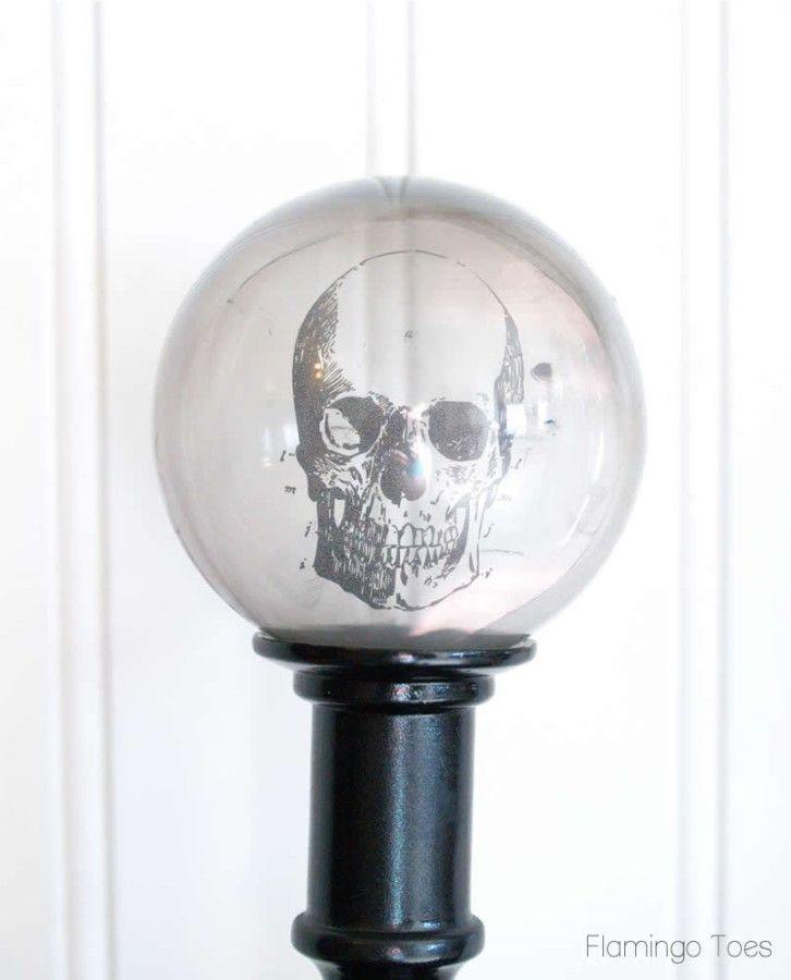 Crystal Ball Skull
