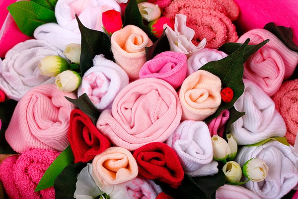 Dusk Pink Big Hearted Bouquet