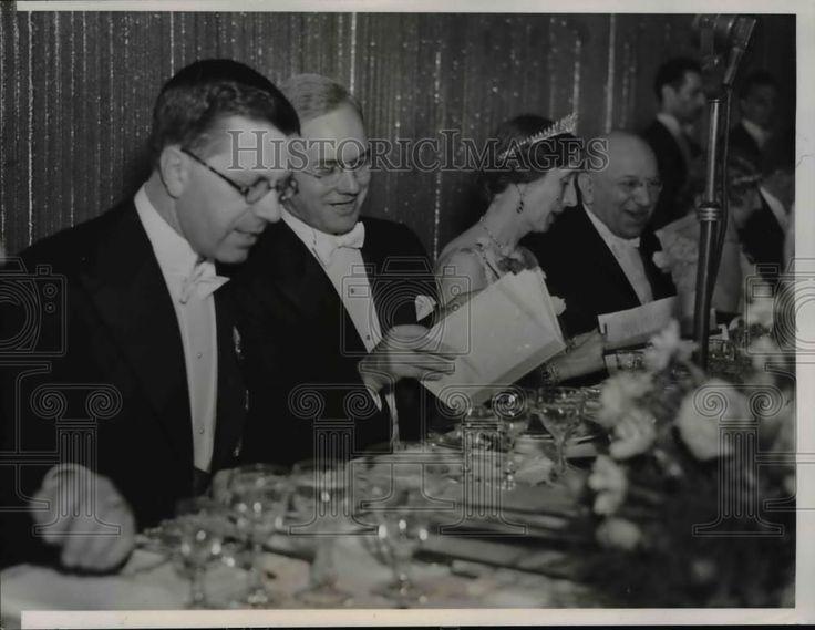 1938 Press Photo in The Honor of Swedish Royalty | eBay