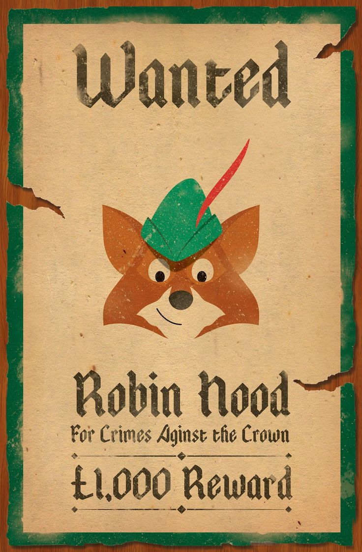 This world needs a Robin Hood.