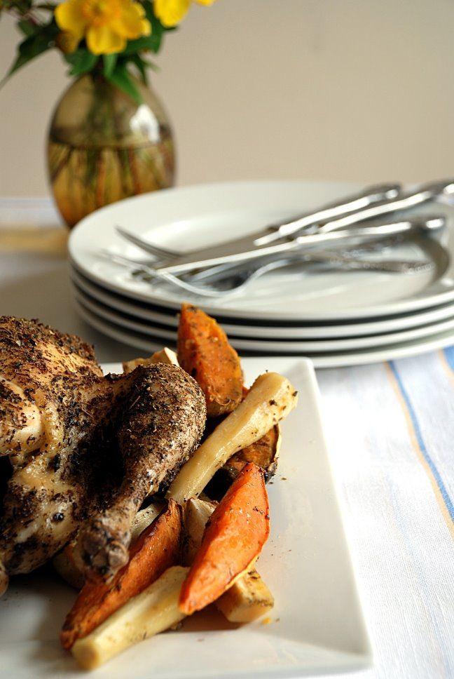 Trufla: Niedzielny kurczak. Pieczony.