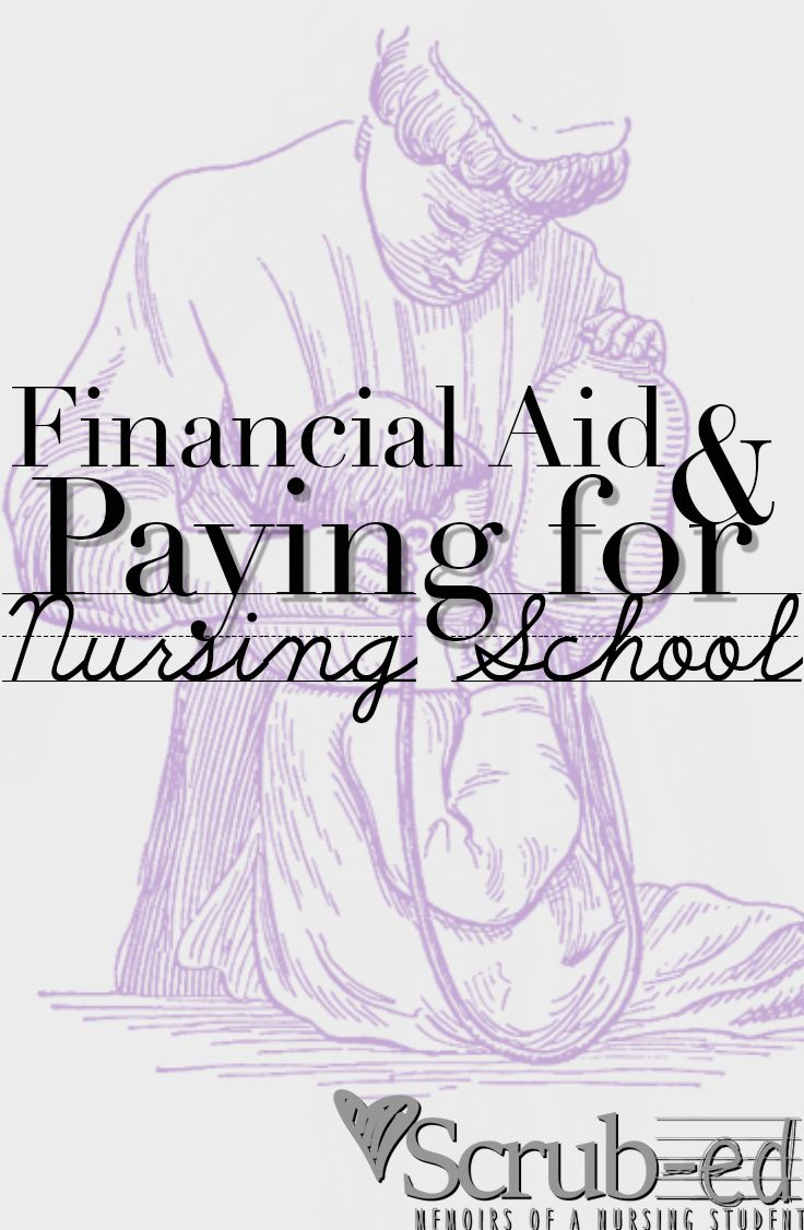 Financial Aid and Paying for Nursing School. http://Scrub-ed.com Nursing Students Financial aid and some creative ways to earn income while in Nursing School. Pin and Follow! <3