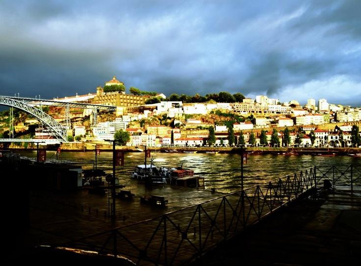 View of Vila Nova de Gaia from Porto