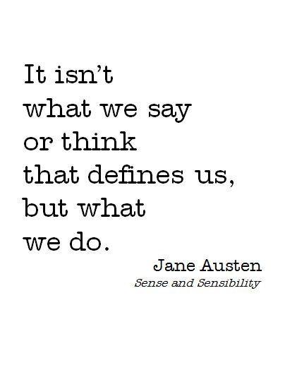 jane austen quotes on love | Community » Jane Austen Quote