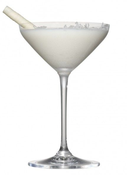 Winter Martini (white chocolate martini)