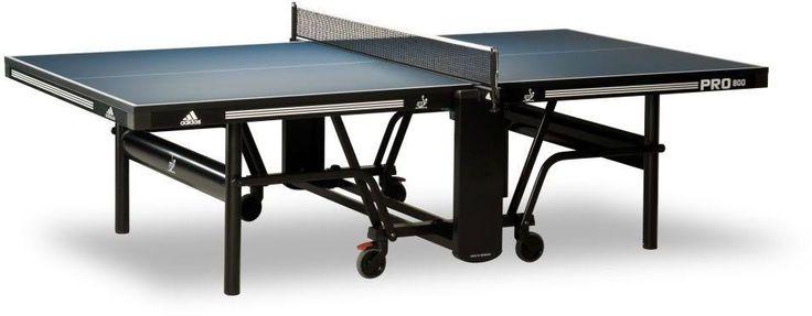 Adidas Pro800 Wettkampf-Tischtennisplatte, blau, 25mm