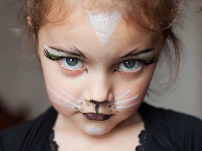 maquillaje nias pinturas faciales rostros maquillaje fresco de halloween disfraces de halloween maquillaje para los nios pinturas de la cara de