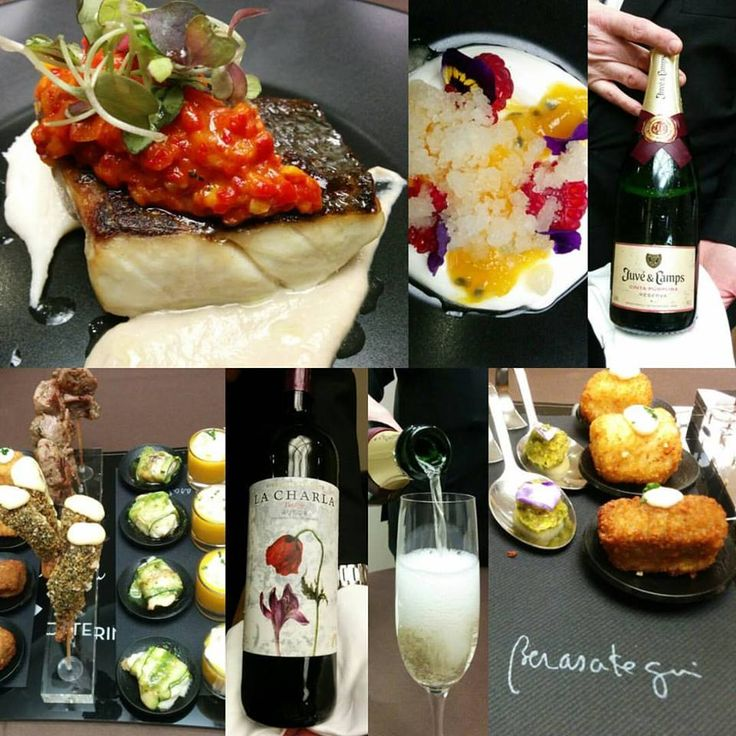 Great food tasting today with 3 Michelin star chef Martin Berasategui! #mwc #barcelona #events