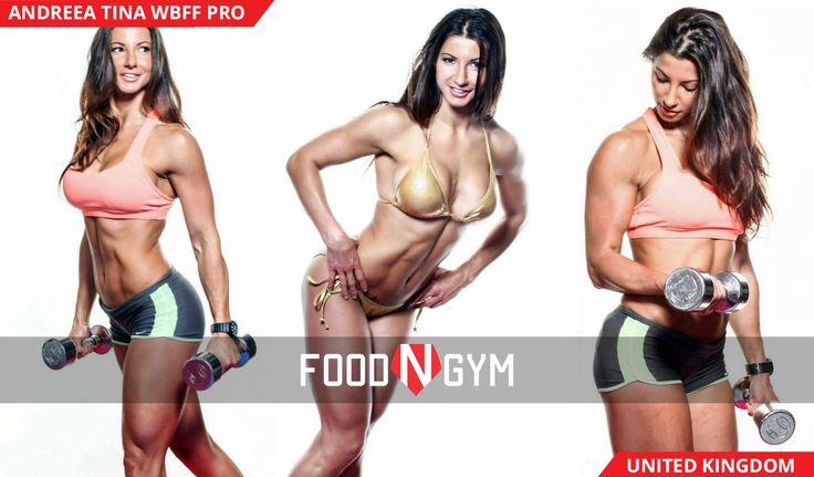 Great body with Andreea Tina Wbff Pro #fitnessmodel #fitness #bikini #healthy #girl #ifbb #pro