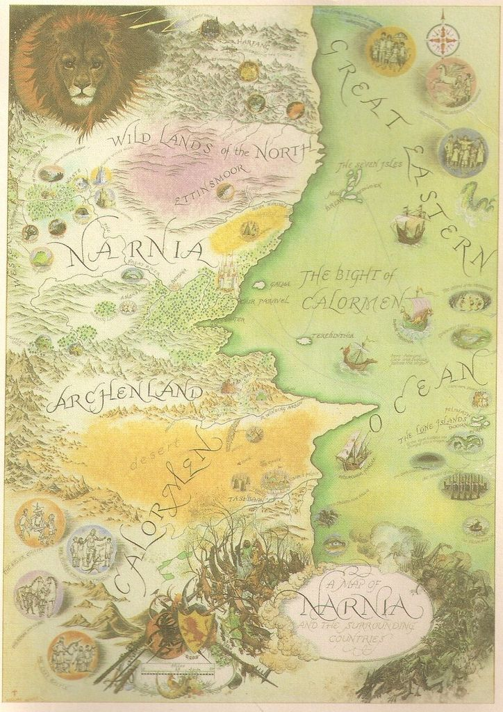 """""""All seven Narnia books, began with seeing pictures in my head. The Lion all began with a picture of a faun carrying an umbrella and parcels in a snowy wood. This picture had been in my mind since I was about sixteen. Then one day, when I was about forty, I said to myself: 'Let's try to make a story about it. I don't know where the Lion came from or why He came. But once He was there, He pulled the whole story together"""" - C.S. Lewis"""