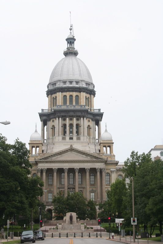 Illinois State: Capital ~ Springfield, Illinois