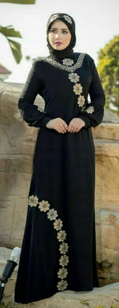 Abaya Dress Kaftan Caftan Moroccan Women Long Maxi Gown Muslim Jilbab Fancy silk | Clothing, Shoes & Accessories, Women's Clothing, Dresses | eBay!