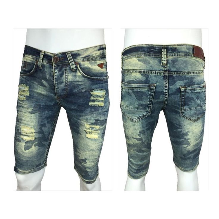 3 4 hose jeans herren