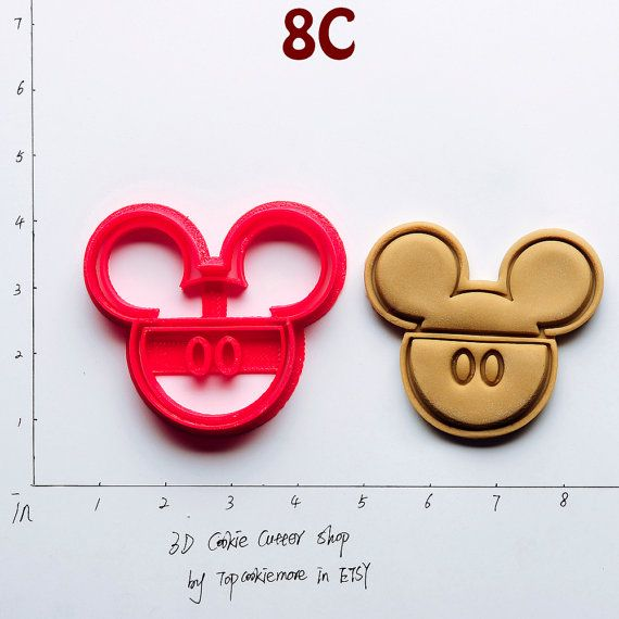 Mickey Mouse Cookie Cutter not mickey mouse by TopCookieMore