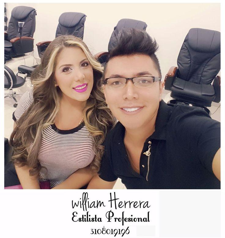 #SelfieTime con esta belleza de mujer quién eligió #ondas nuevamente el tono #rosa en los labios que sigue en furor y ojos muy naturales pero hermosos <3 Asesórate conmigo y lleva tu look ideal 3108019196 ¡William Herrera, Estilista Profesional! #MakeUp #Maquillaje #Belleza #MAC #CaliCo #Cali #Colombia #CaliEsCali #Hermosas #Recogidos #Pro #Estilista #Profesional #Natural #Mujeres #Look #Style