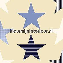 stars blue gordijnstoffen Esta for Kids