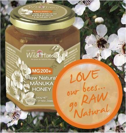 LOVE our new Wild Honey MG RAW NATURAL range.  MG (methylglyoxal) is the NZ Government approved measurement for AUTHENTIC manuka honey BUY IN UK AT:  http://www.ethicallyessential.coop/