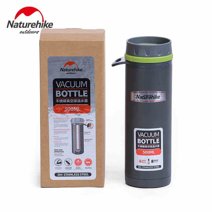 ==> [Free Shipping] Buy Best 500ML Food Grade PP Stainless Steel Double Layer Vacuum Flask Thermal 24 Hours Insulation Bottles Travel Water Bottle Boil Food Online with LOWEST Price | 32612074773