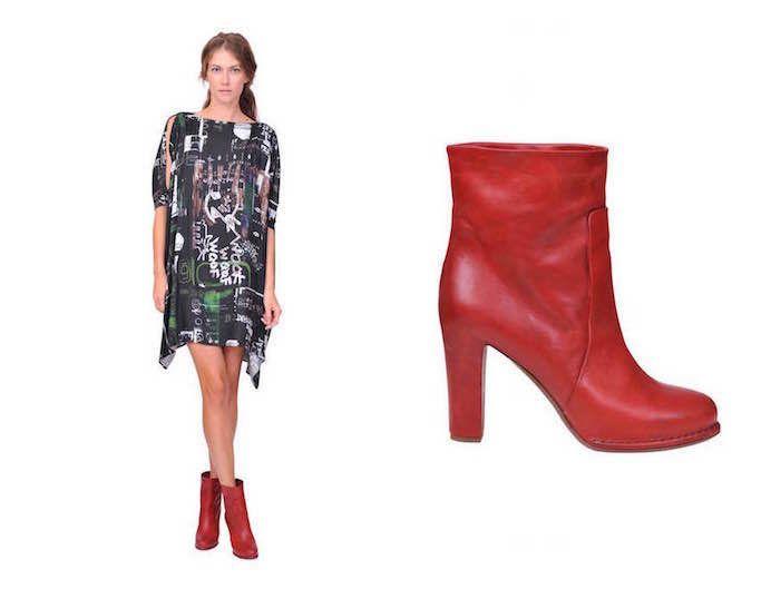 MM6 dress- Roberto del Carlo booties www.suite123.it