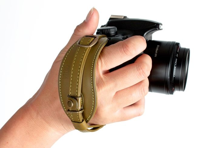The Handy Dandy Hand Strap - The comfiest way to keep your camera close by. ($40.00, http://photojojo.com/store)