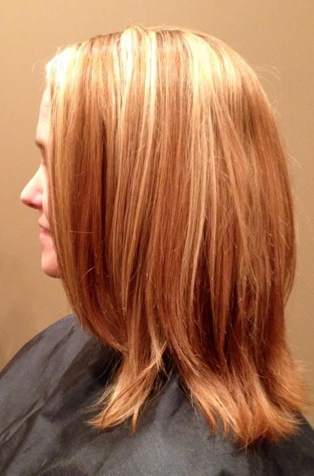 34 best hair ideas images on pinterest hairstyles strawberries blonde highlights in natural strawberry blonde hair pmusecretfo Image collections