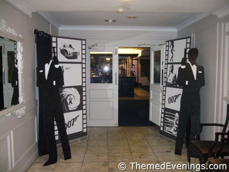 how to make james bond decorations | ... Bond nights: http://www.themedevenings.com/themed-nights/james-bond