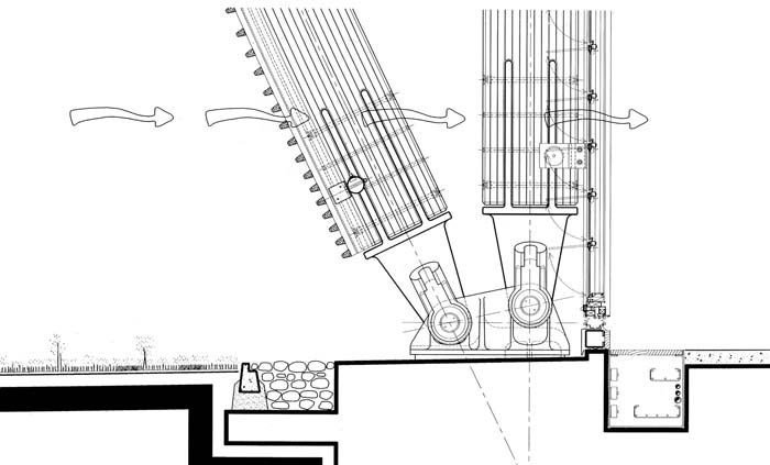 Drawings - Jean-Marie Tjibaou Cultural Center - Rpf