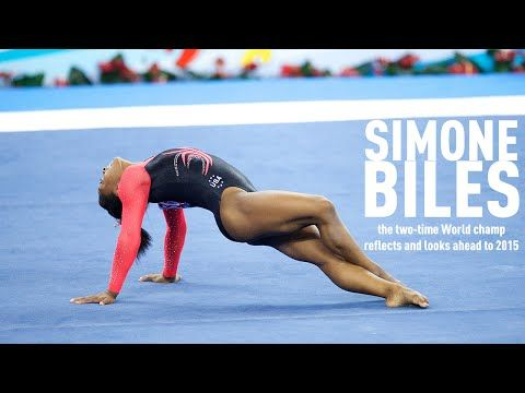 ▶ Two-time World all-around champ Simone Biles looks ahead to 2015 - YouTube