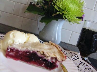 Mennonite Girls Can Cook: Bumbleberry Pie    Bumbleberry Pie  Bumbleberry pie is a Canadian favorite...a combination of fruits...apples, rhubarb and assorted berries. With so much emphasis on eating locally grown products these days...here's a dessert that I can bake using all home-grown fruits.