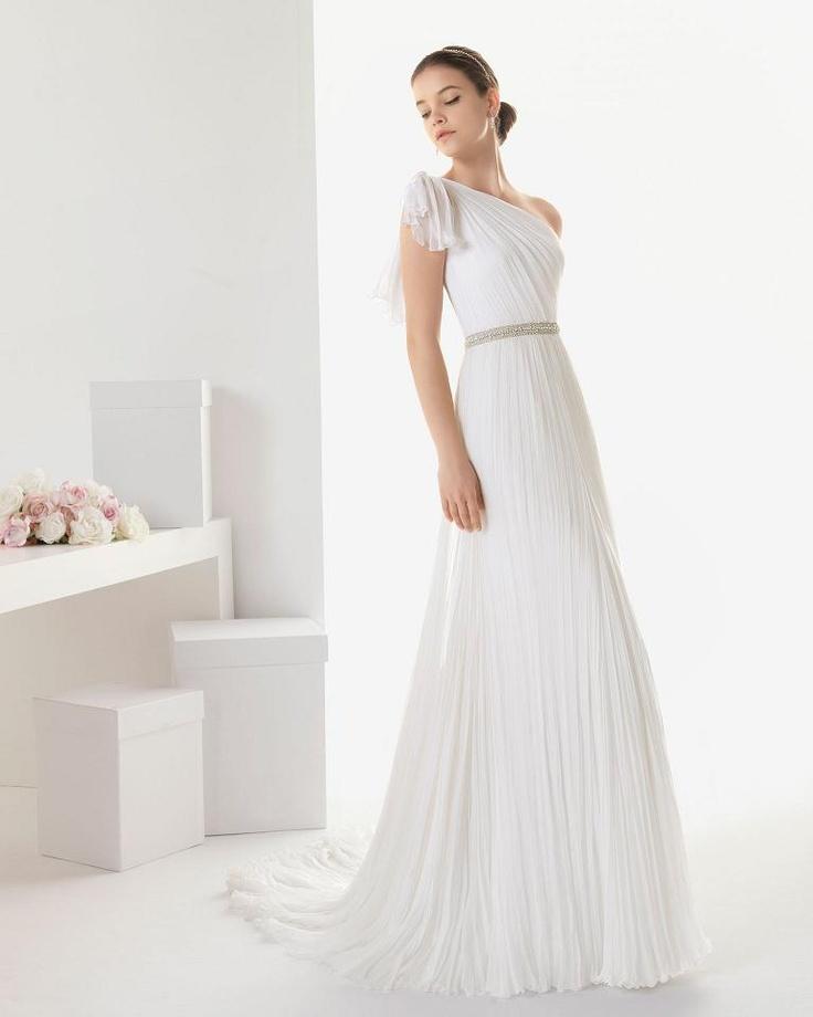 15 best Greek Style Wedding Gowns images on Pinterest | Wedding ...