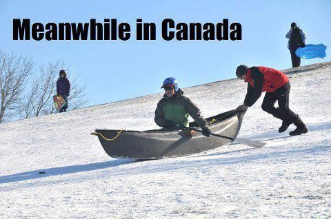 Meanwhile in Canada ...<< k just saying I've done this and it was SO much FUN!!!!!! I would do it agian in a heart beat!!!!