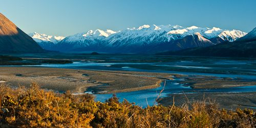Rakaia River, New Zealand