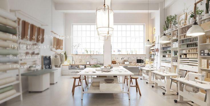 Sewing Room Ideas Minimalist