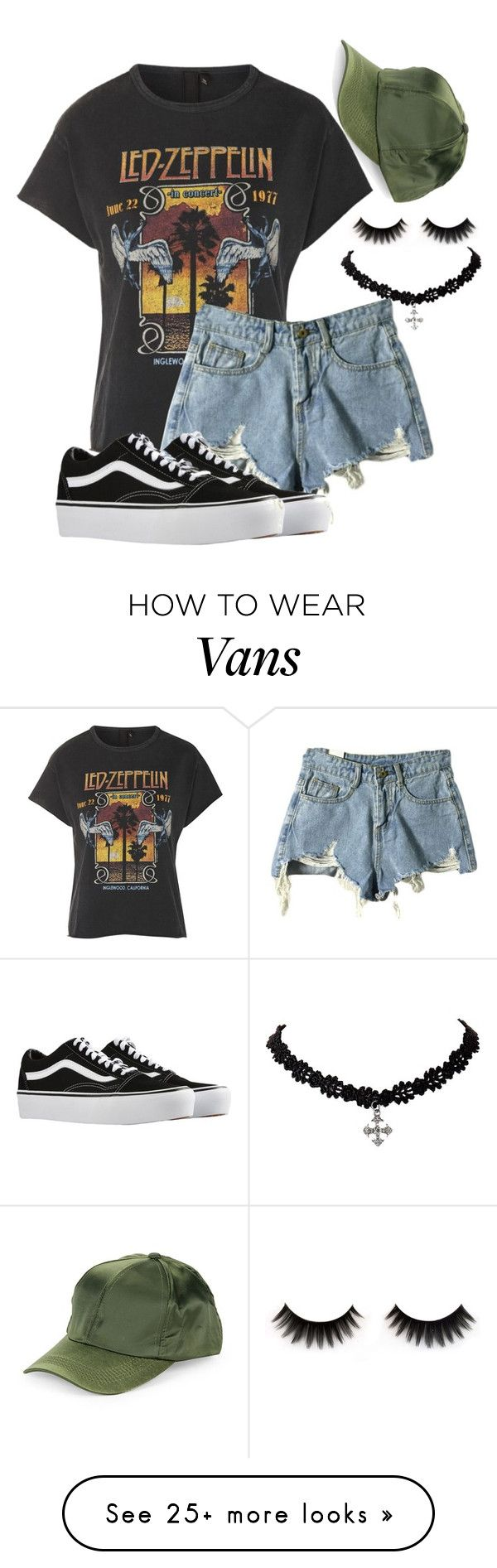 """""""Untitled #2437"""" by mfr-mtz on Polyvore featuring Topshop, Vans and COLLECTION 18"""