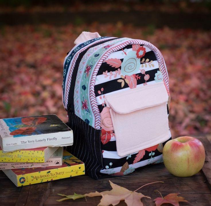 Aztec. Backpack. Toddler sized backpack. Toddler girl.