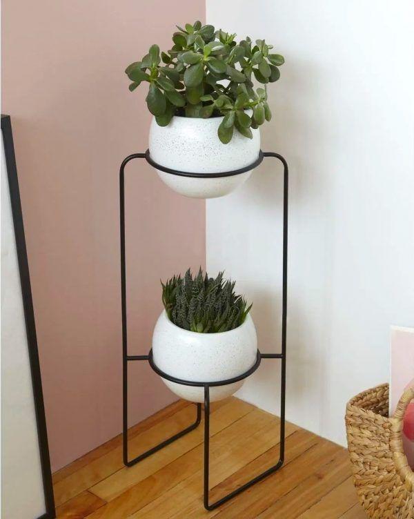 Product Of The Week A Beautiful Modern 2 Tier Planter Diseno Para El Hogar Arte En Vidrio Macetas