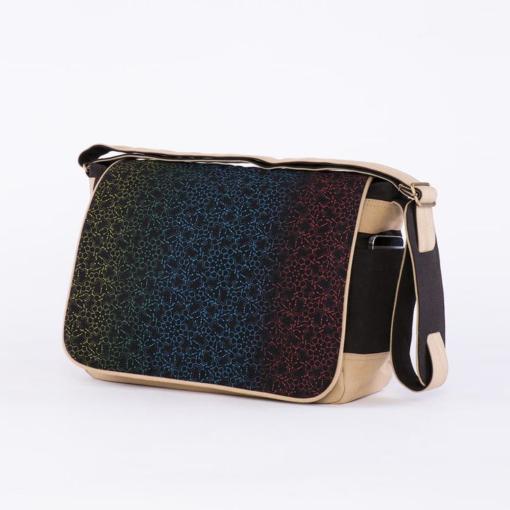 NEW!! LSD Molecule Messenger Bag ►Padded Laptop Compartment. ►Adjustable Shoulder Strap. ►Made from canvas.  #sol #seedoflife #psychedelic #bags #laptopbag #messengerbag #lsd #lsdmolecule #psytrance #goa #burningman #tribal #visionaryart