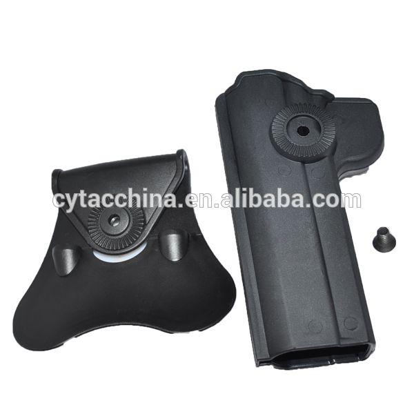 Tactical polymer Holster for colt 45 model 1911
