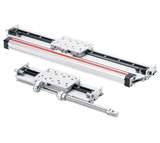 Motorized linear guide rail