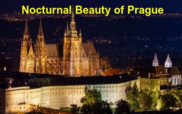Enjoy the nocturnal beauty of Prague by traveling the city with a segway. Prague is one of the most beautiful city in Czech Republic. #TravelingPrague #Praguecity #Praguecitytour #beautifulPrague #nighttoursPrague
