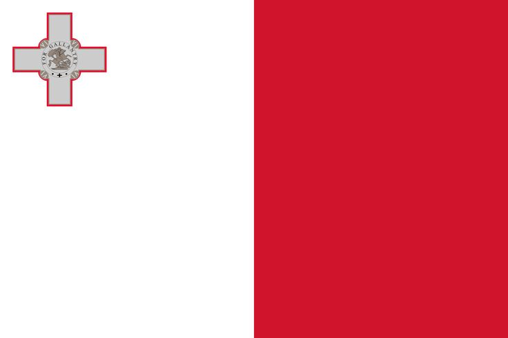 Current flag after Malta's independence in 1964