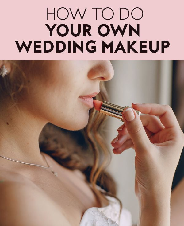 We Spoke To Pro Makeup Artist Maureen Pedala For Her Best Tips On Doing Your Own Wedding