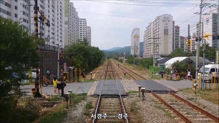 [무궁화호] 동해남부선 경주 → 부전 후부영상, Korean Mugunghwa Train Driving Video on Dongh...