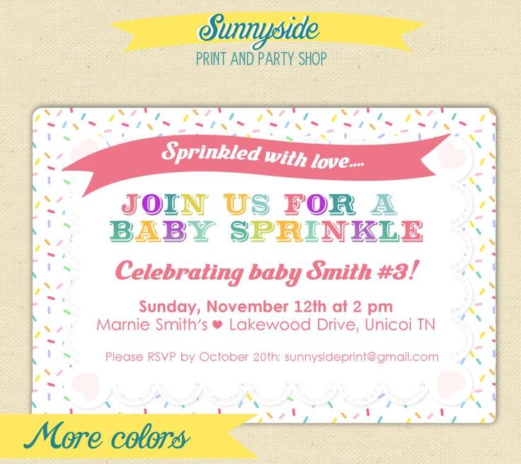 16 best Erin\'s sprinkle images on Pinterest | Baby shower ...