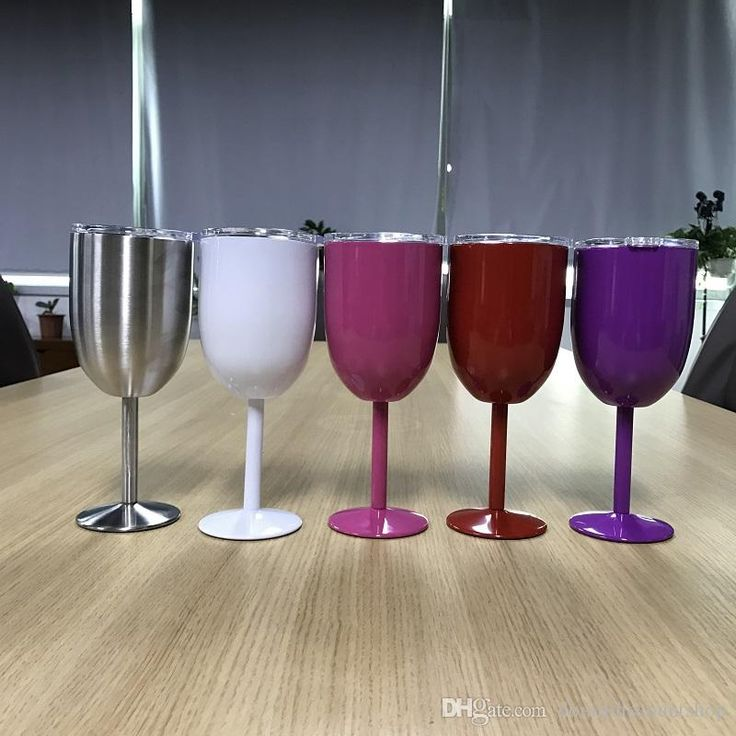 Wholesale Blanks 10 OZ Stainless Steel Wine Glasses Insulated Double Wall Wine Cups DOM103419 10 OZ Wine Cups Stainless Steel Tumblers Insualted Wine Glasses Online with $599.4/Piece on Domildiscountshop's Store | DHgate.com